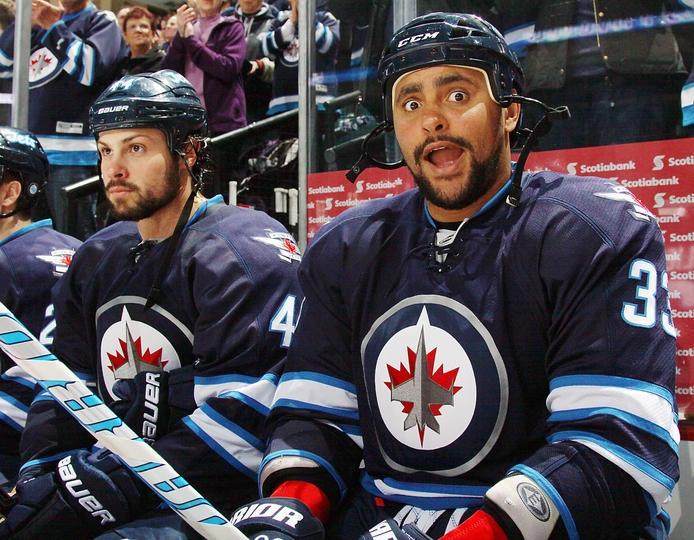 Winnipeg Jets/ favorite player #33