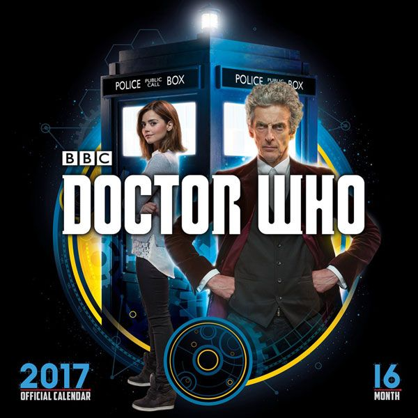 Doctor Who 2017 Square Wall Calendar Doctor Who Pinterest