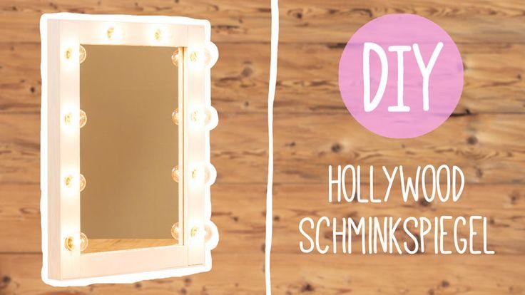 Mit diesem Do-it-yourself-Schminkspiegel inklusive Beleuchtung holen Sie sich einen Hauch Hollywood in Ihre Wohnung. Zum Selbermachen für Fortgeschrittene!