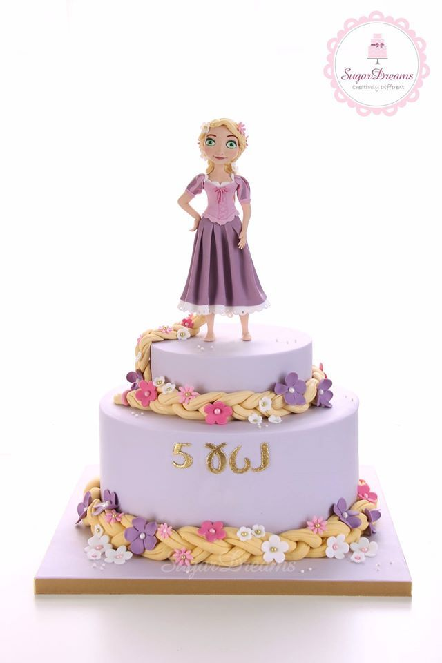 Tangled cake - For all your cake decorating supplies, please visit craftcompany.co.uk