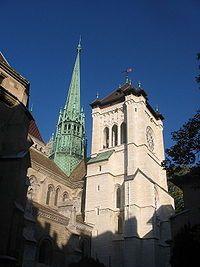 ジュネーブにあるサン=ピエール大聖堂を見学。スイス 旅行・観光の見所。