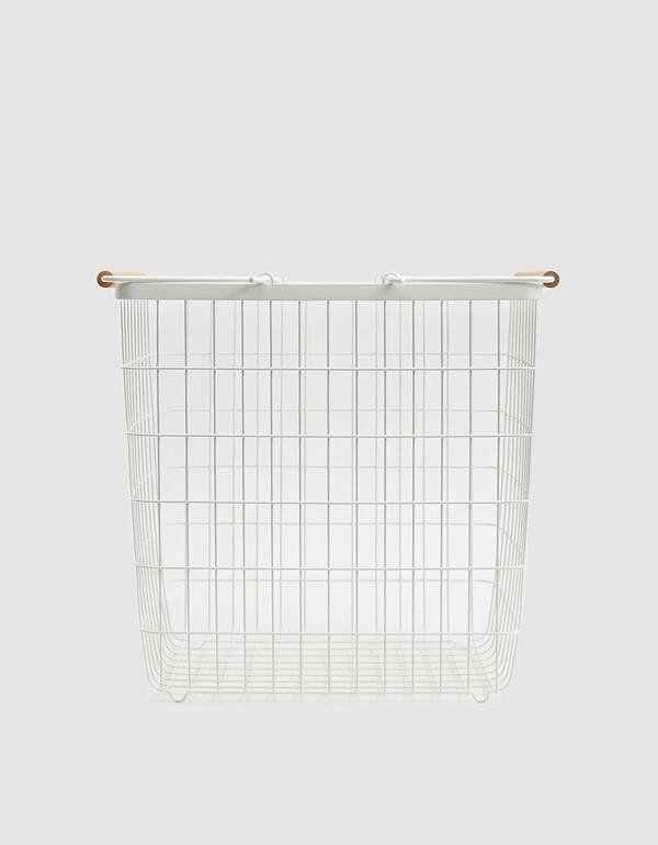 Yamazaki Home Large Storage Basket In 2020 Storage Baskets