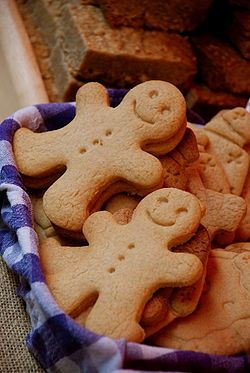 WE ARE GODS 'GINGERBREAD MAN' :)
