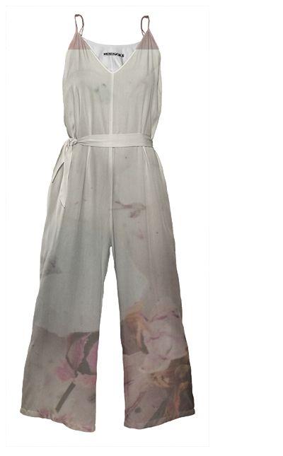 FLOWERBOMB Tie Waist Jumpsuit By Anja Popp $178.00