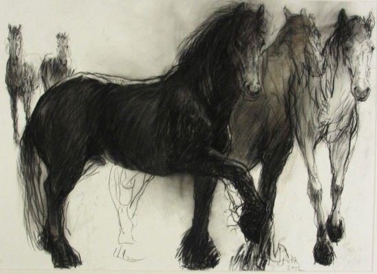 Jan van der Kooi - Fries paard