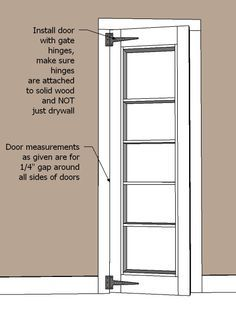Tutorial on how to make a hidden bookshelf door When making for the kids put a