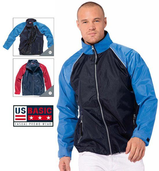 US Basic Windbreaker Jacket. #jacket #usbasic #windbreaker