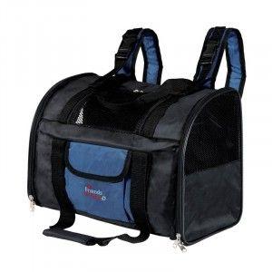 Lavet af holdbart nylon. front og side åbninger. Kan omdannes til rygsæk. Justerbare skulder og talje stropper. Forstærket bund. Nem at rengøre. Udvendige mål: 44cm x 21cm x 30cm.