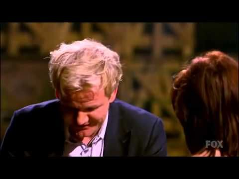 Gordon Ramsay meets Glasgow native during the Masterchef competition. - YouTube