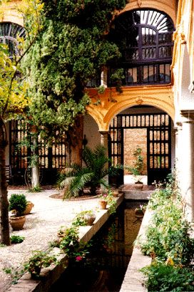 Patio. Granada Spain
