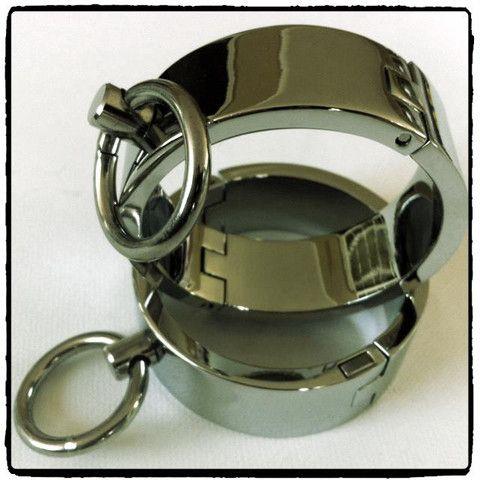 Steel Wrist Cuffs – Lady Kink