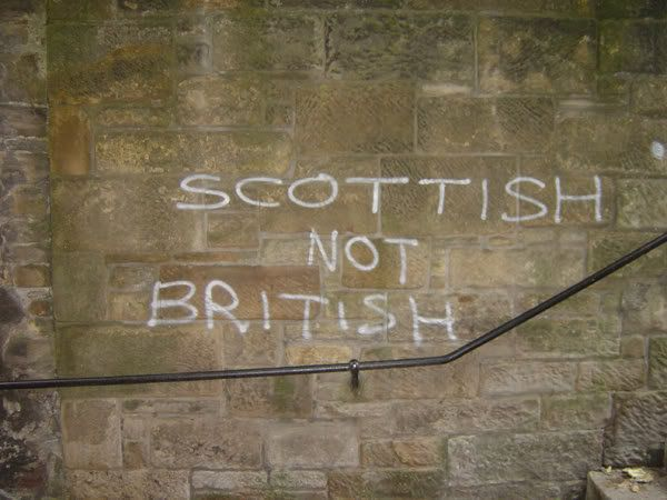 """A group for people who would rather have Scottish as a national identity rather than """"British"""". https://www.facebook.com/pages/Scottish-NOT-British/187422552407"""