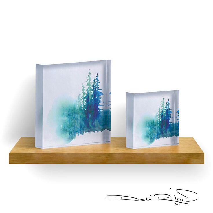 Redbubble.com debijriley  acrylic block ART