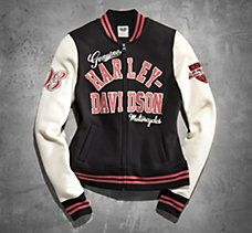 73 best women's harley-davidson jackets images on pinterest