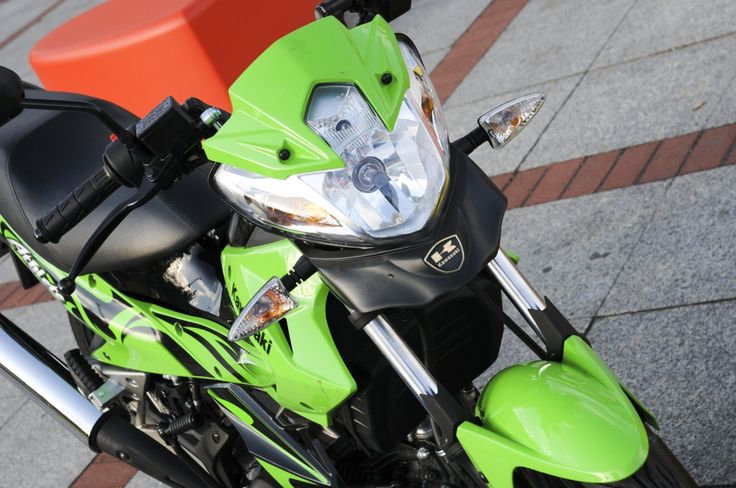 Kawasaki AX 125 – Pokrak