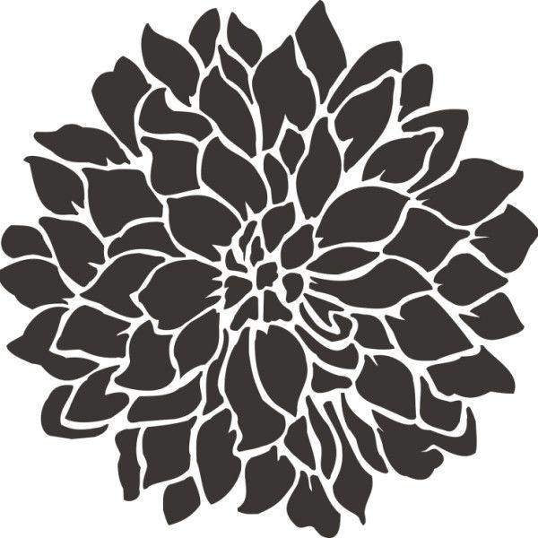 Pin On Flower Stencils