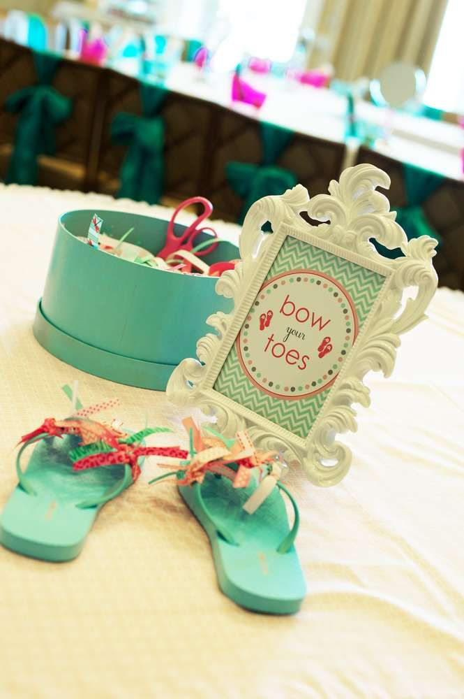 spa pamper party Birthday Party Ideas | Photo 1 of 47 | Catch My Party