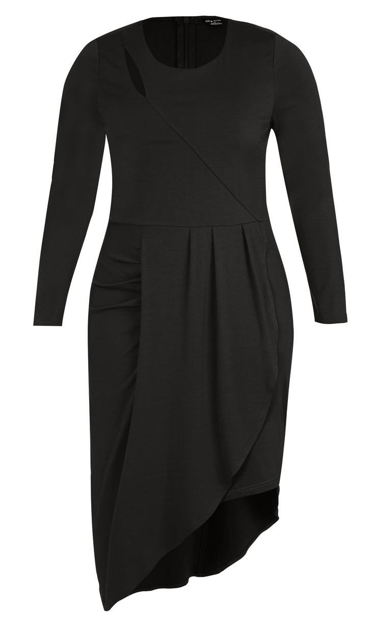 City Chic - WRAPPED UP DRESS - Women's Plus Size Fashion