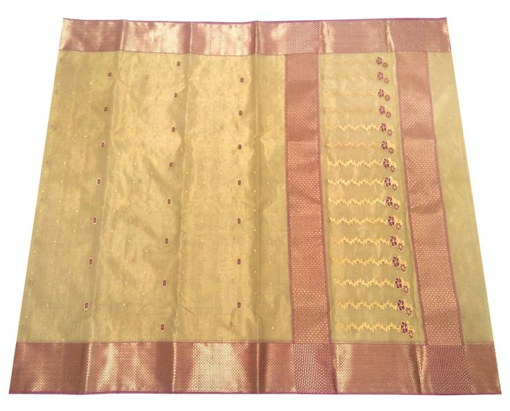 This Chanderi Saree is made of Zari Warp and Silk weft. Length is approx. 6.25 meter, and width is approx 45 inches. At the time of listing this product, this item is available. In case this item is sold out from our physical store, the full refund will be initiated back to you within 24 hours of ma