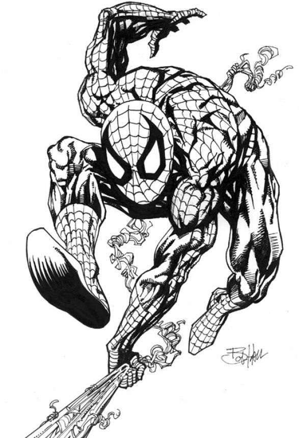 Zombie Spiderman Colouring Pages | Spiderman coloring ...