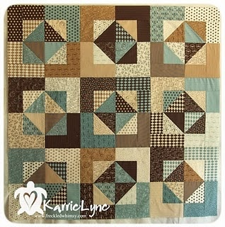 quilt design I'd like to make with Christmas fabric.