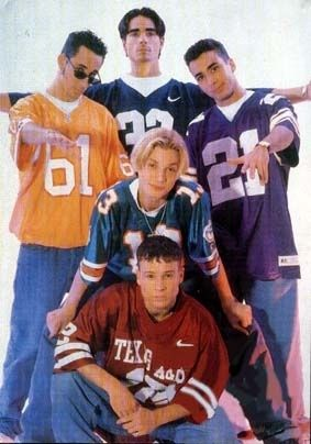 The backstreet boys were the first boy band I actually liked. I had made the ultimate decision at age 5.. I committed myself to be a BSB girl. It was either backstreet boys or nsync, you couldn't choose both. It was like team edward or team jacob.
