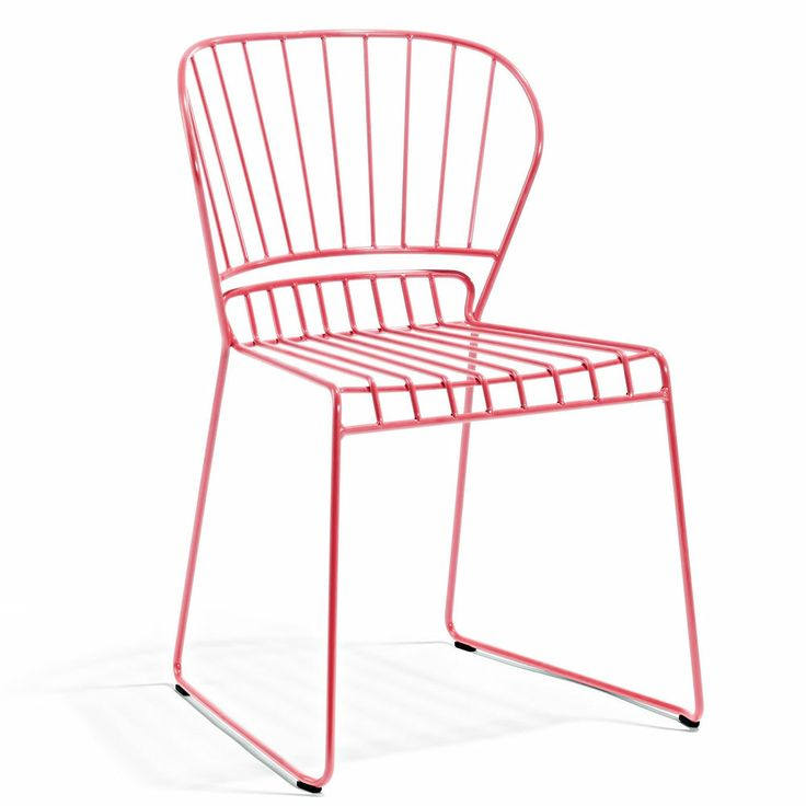 Resö Chair, Pink - Matilda Lindblom - Skargaarden - RoyalDesign.com #skargaarden #furniture #outdoor #outdoordesign #royaldesign