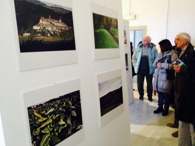 """Inaugurazione """"Monterchi...Punti di vista"""". Progetto di Adozione Fotografica (in Mostra dal 18/12/2015 al 7/2/2016 presso il Museo della Madonna del Parto) a cura di Confartigianato Imprese Arezzo"""