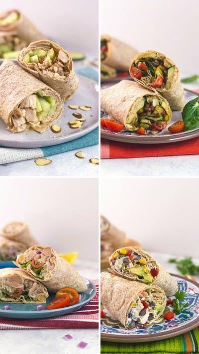 Von Honig-Sesam-Hähnchen und Zucchini mit Hummus über Thunfischsalat bis zu Tex-Mex-Ch …   – Recipes to Cook