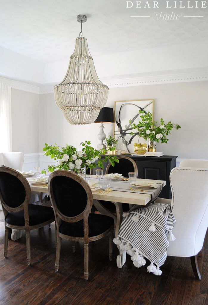 Rental Dining Room Dear Lillie Home Decor Dining Room Design
