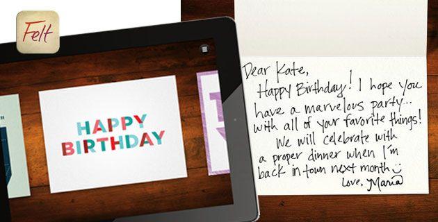 Felt App | Handwritten Cards are back - Feel Desain