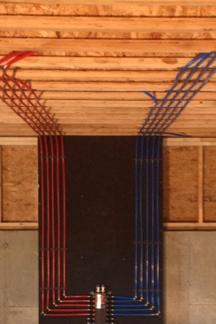 Install of a pex manifold with a rinnai tankless water for Pex pipe pros and cons