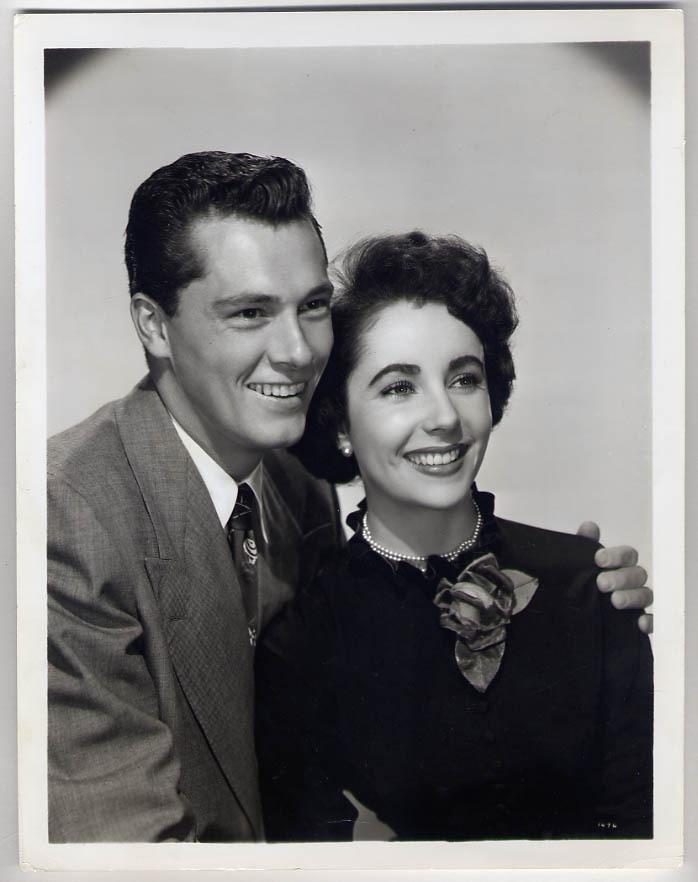 Elizabeth Taylor and first husband Conrad Hilton
