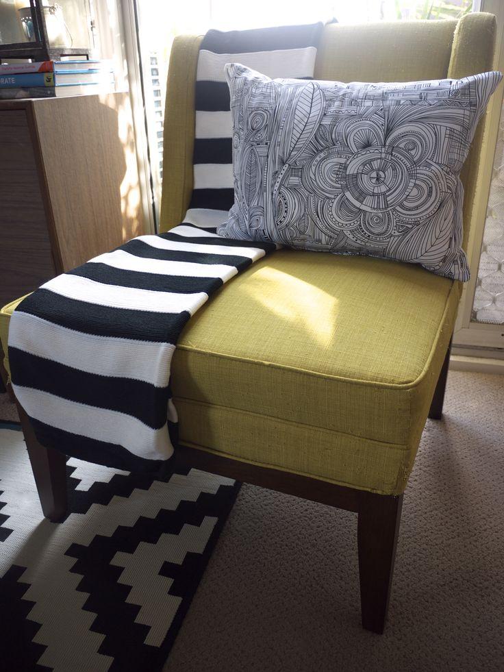 IKEA Winter Living Room Makeover