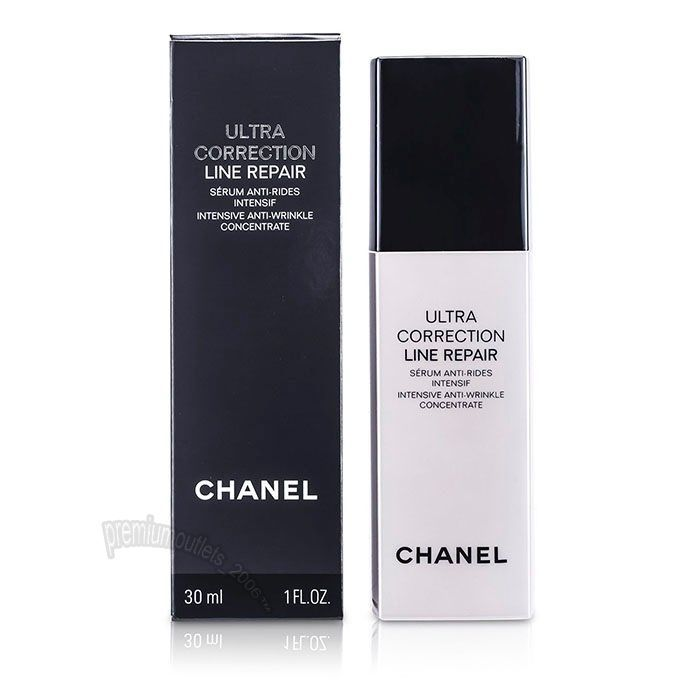 Chanel Ultra Correction Line Repair Serum Intensive Anti-Wrinkle Concentrate  #Chanel
