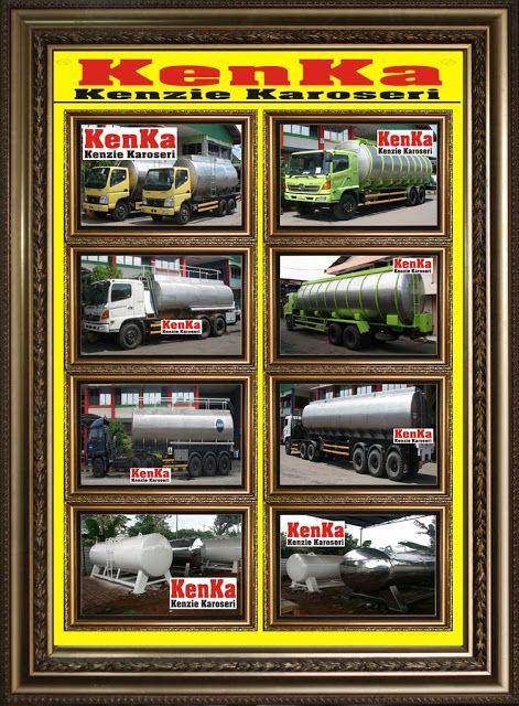 TRUCK dan TRAILER TANGKI STAINLESS >> KAROSERI KENKA