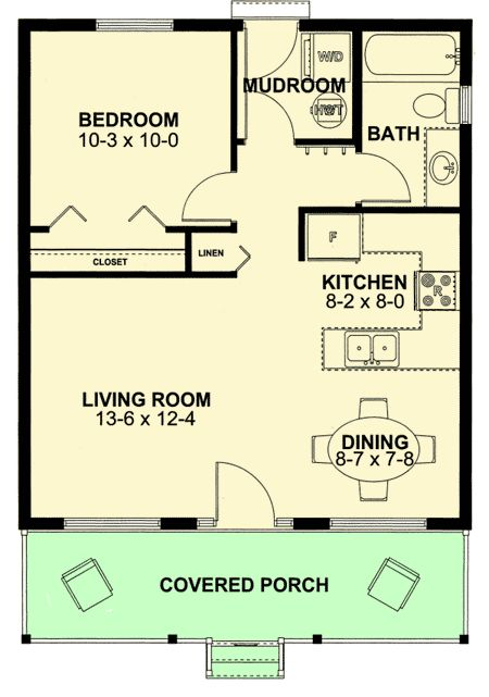 Best 25 small guest houses ideas on pinterest small for Pool guest house plans