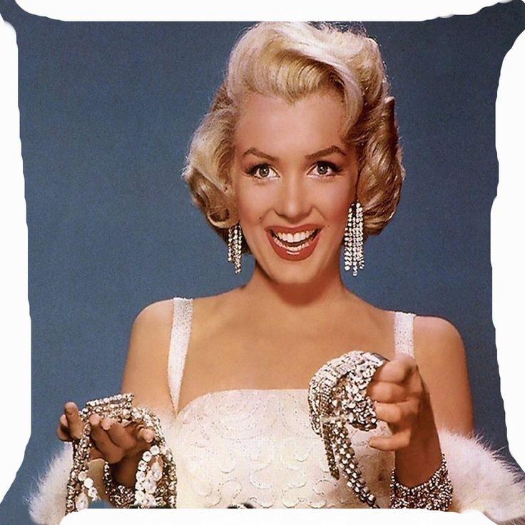 Retro vintage Marilyn Monroe diamond girl best friend cute cushion cover 18     eBay