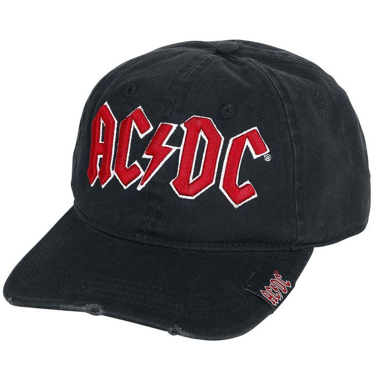 AC/DC Cap »Logo« | Nu te koop bij Large | Meer Band merch Caps online beschikbaar - De beste prijs!
