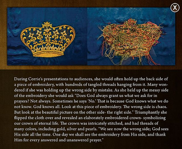corrie ten boom crown emroidery | Recent Photos The Commons Getty Collection Galleries World Map App ...