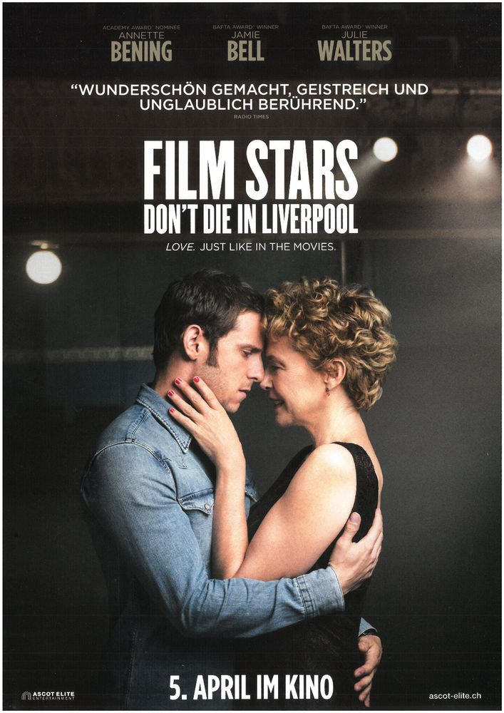 FILM STARS - DON'T DIE IN LIVERPOOL - 2018 - ORIG. FILMPOSTER A4