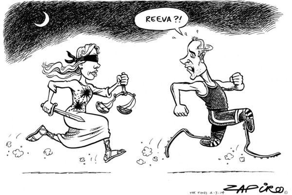 Zapiro: Oscar Pistorius trial - This Oscar thing is a little OTT.