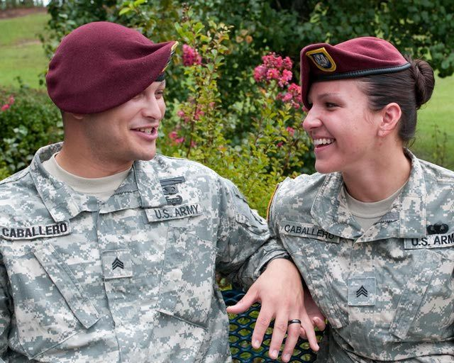 Pros and cons of dating an army man