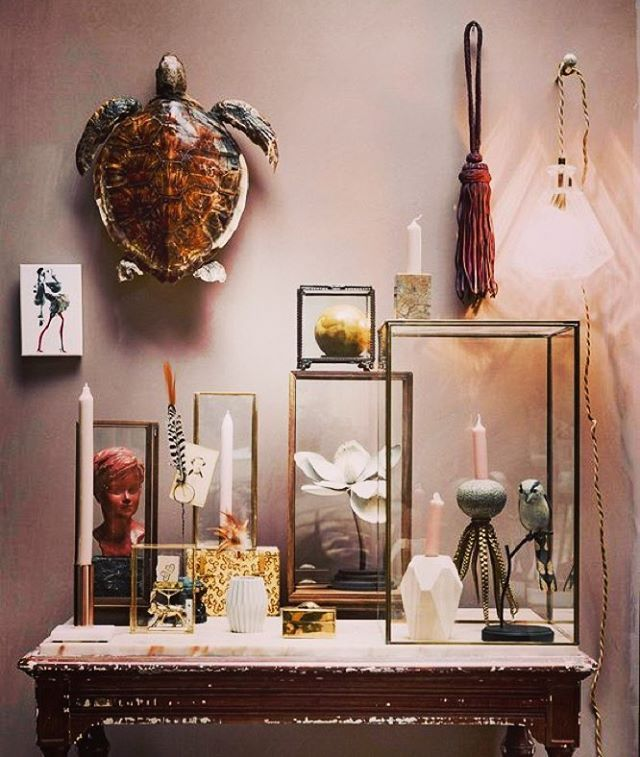 Weve spotted our whiskey lamp and leather tassel in this months vtwonen issue