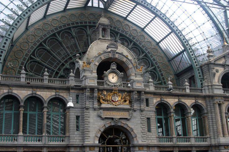 Antwerp Station Clock