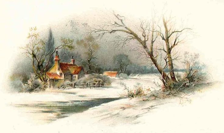 Victorian Christmas Snow Scenes | Victorian Christmas Advent Calendar: 5th December | Cambridge ...