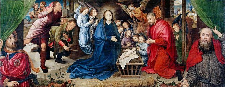Гус, Хуго ван дер (ок1425-1482) - Поклонение пастухов.