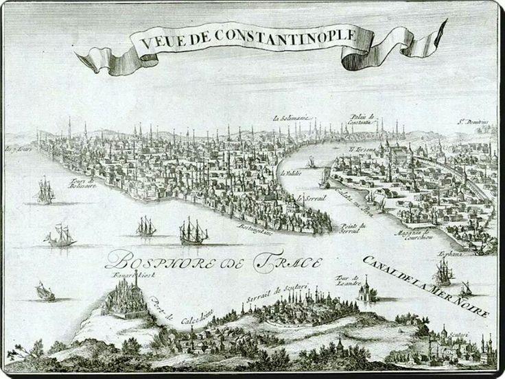 Istanbul haritasi 1690