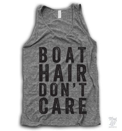 Boat hair don't care!