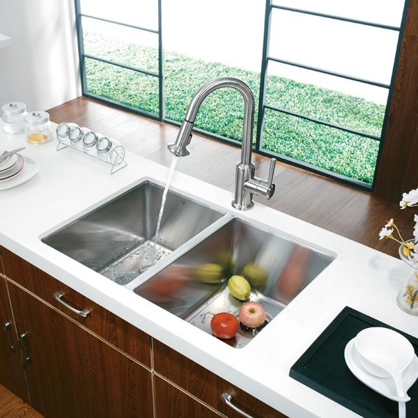 83 best Kitchen Sinks and Faucets images on Pinterest | Kitchen ...